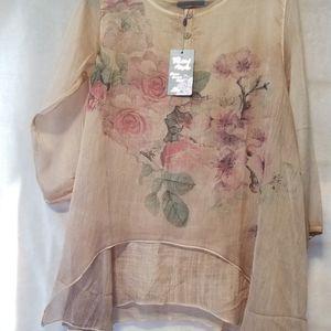 feminine tunic